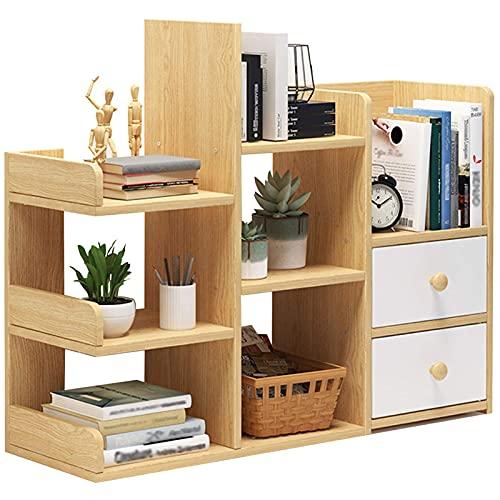 lzdasczz Desktop-Holz-Bücherregale,...