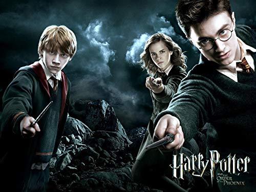Póster de Harry Potter con Texto en inglés Orden of The Phoenix, tamaño A4, se envía en 24 Horas de 1ª Clase.