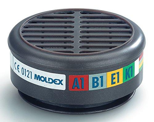 MOLDEX Radialanschluss Filter , Passend für Serie 8000 (Packung mit 2 Stück)