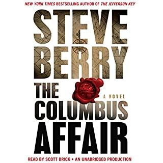 The Columbus Affair audiobook cover art