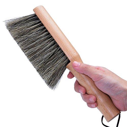 SHIEM Balayage Brosse de lit/Brosse à poussière/Antistatique Chambre Brosse/Cheveux Doux Balayage Chambre à Balai Brosse à poussière