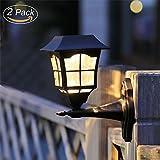 Maggift 6 Lumens Solar Wall Lantern Outdoor Christmas Solar Lights Wall Sconce Solar