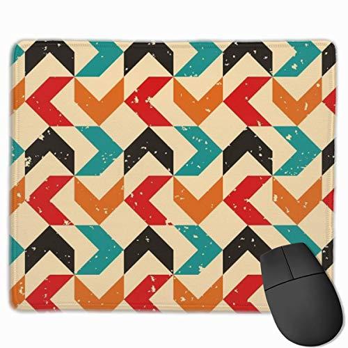 Farbige Bumerang Anti-Rutsch Einzigartige Designs Gaming Mouse Pad Schwarzes Tuch Mousepad Art Naturkautschuk Maus Matte