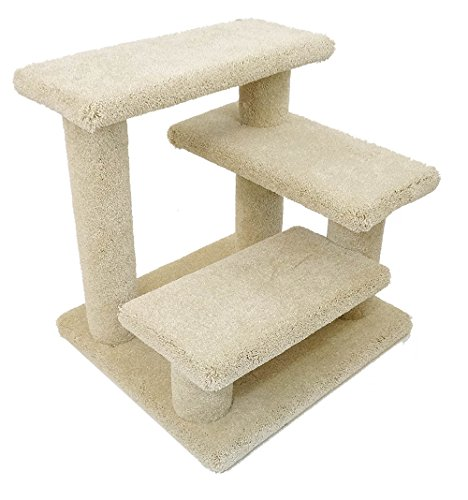 New Cat Condos Solid Wood Pet Stairs, Large