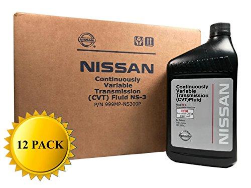 Nissan Genuine OEM CVT-3 Transmission Fluid 999MP-NS300P (12 Quarts)