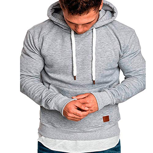 YYXDP 2019 Pullover Herren Winter New Solid Color Thick Herren Langarm Pullover