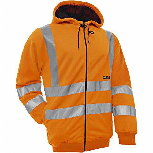 Blakläder 334719745300s tamaño pequeño'alta Vis Sudaderas con capucha chaqueta–naranja