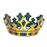 Liontouch 29202LT Corona de Juguete de Espuma de Creadores de Reyes Medieval para niños | Forma Parte de la línea de Disfraces para niños