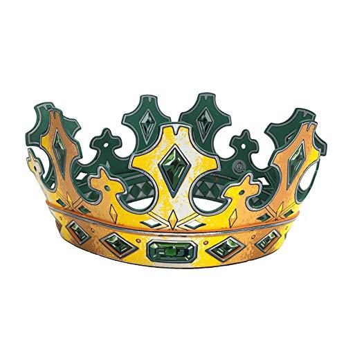 Liontouch 29202LT Königsmacher Gold Krone | Spielzeug aus Schaumstoff, Königkostüm für Kinder