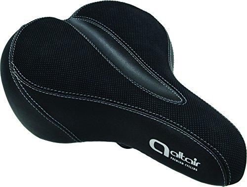 Altair Comfort Ergo Gel 270 x 195mm Saddle, Black