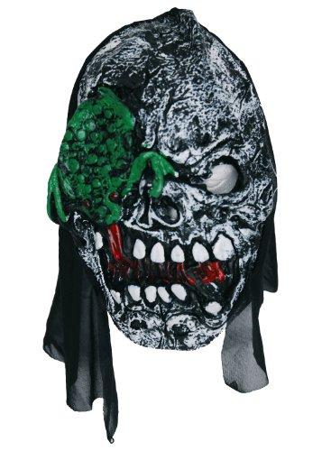 Zombie Masque en caoutchouc en forme de grenouille (Vert)