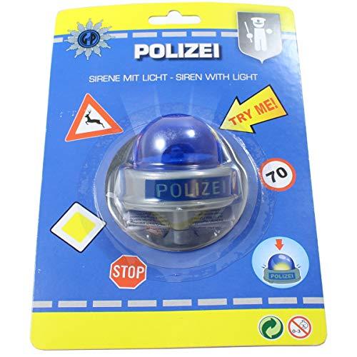 Smart Planet Fahrradklingel Polizei Sirene Bike Fun Polizeisirene lustige Kinder Fahrrad Klingel für den Fahrradlenker