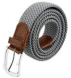 Maikun Belts For Men, Canvas Elastic Belt, Belt For Men for 36''and below