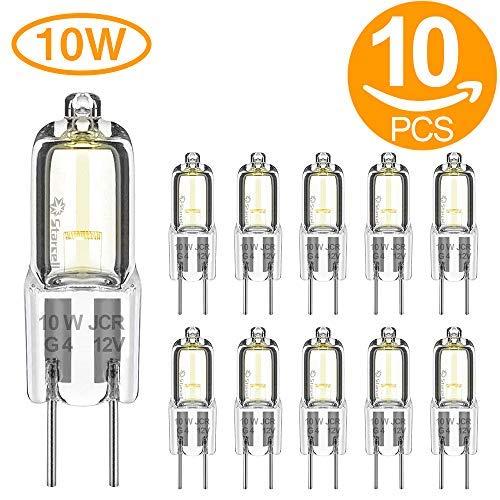 Act 10 Lampade alogene 12 V 10 W attacco bispina G4 Classe di efficienza energetica D