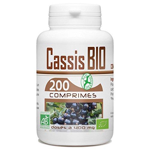 Cassis Bio 200 comprimés 400 mg