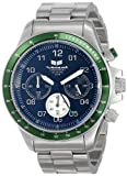Vestal Unisex ZR2016 ZR-2 Silver Green Black Watch