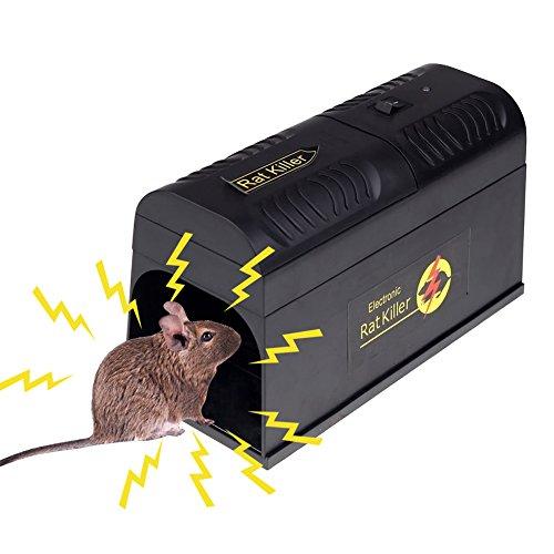 LianLe elektronische Rattenfalle, elektronische Mausefalle, sicherer Weg, Mäuse und Ratten, kleine Eichhörnchen und andere ähnliche Nagetiere zu fangen