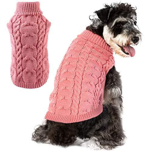 Felenny Hond Breien Trui Haak Breien Hond Trui Puppy Kleding Winter Zachte Warme Ademende Trui Breigoed