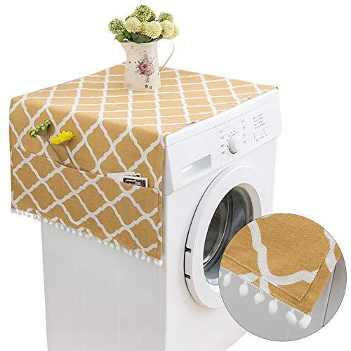 Kühlschrank Staubdichte Abdeckung 130 * 55cm,Kühlschrank Staubschutz mit Aufbewahrungstasche,Waschmaschine Staubschutz,Waschmaschine Abdeckung,Kühlschrank Staub Cover