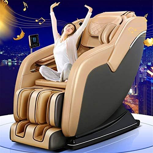 CLOTHES 3D Massagesessel, 4D Zero Gravity Kneading Fuß Shiatsu Elektroganzkörper-Massage-Stuhl für Hause und Büro