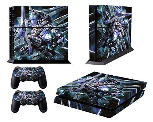 EBTY-Dreams Inc. - Sony Playstation 4 Original (PS4 Original) - Gundam Mobile Suits Anime Mecha Vinyl Skin Sticker Decal Protector