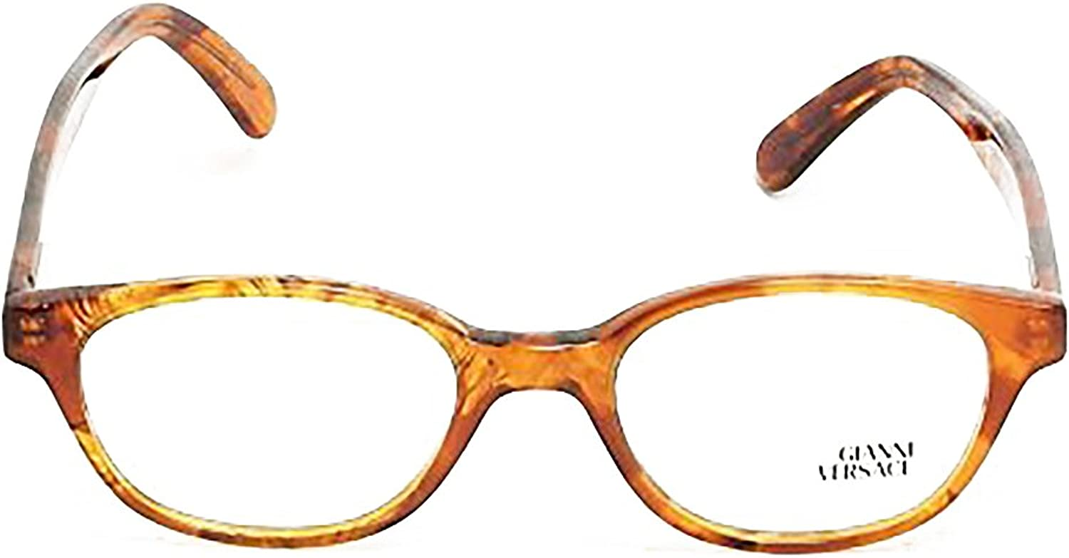 Gianni Versace Eyeglasses V53 col. A08 Brown Tortoise 4819 Made in
