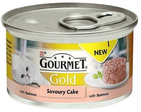 GOURMET Gold Tartini con salmón 24 x 85 g