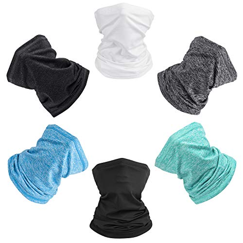 Seewow Balaclava Neck Gaiter Face Cover For Dust Wind UV Sun Protection Outdoor Face Scarf Headwear for Unisex Men & Women