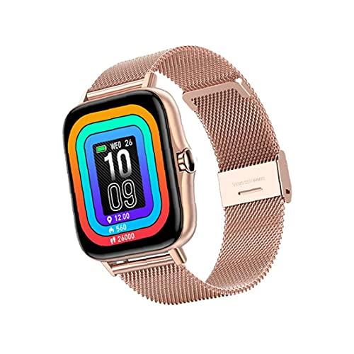 Reloj inteligente portátil Y20 Actividad de tira de acero Relajes impermeables Relojes para ejercicio de fitness con pantalla táctil Paso de oro