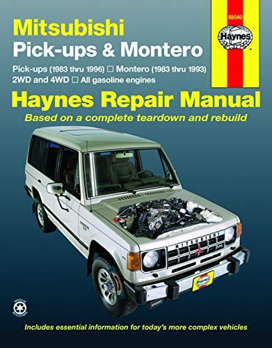 Mitsubishi Pick Up & Montero (83 - 96) (Haynes Automotive Repair Manuals)