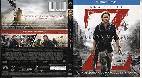 Guerra Mundial Z (DVD + BD) [Blu-ray]