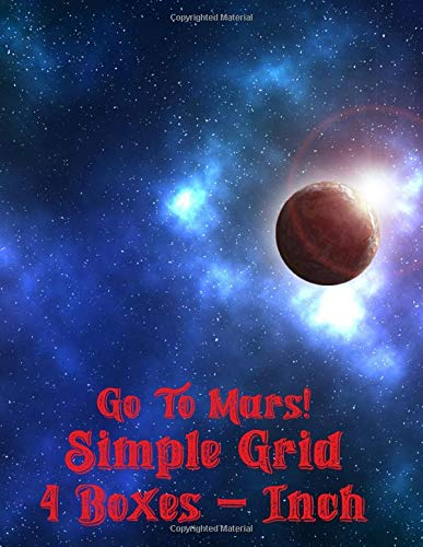 Go to Mars!: Simple Grid 4 Boxes - Inch Table Chart Plotter Engineer Drawing