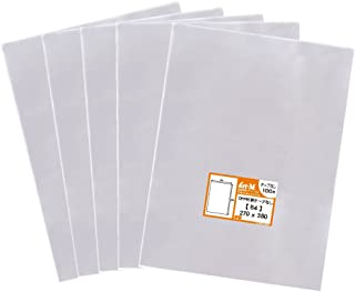 【国産】テープなし B4【 B4用紙・ポスター用 / 角1封筒 】透明OPP袋(透明封筒)【500枚】30ミクロン厚(標準)270x380mm