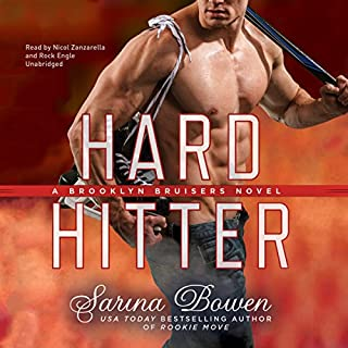 Hard Hitter     The Brooklyn Bruisers Series, Book 2              Auteur(s):                                                                                                                                 Sarina Bowen                               Narrateur(s):                                                                                                                                 Nicol Zanzarella,                                                                                        Rock Engle                      Durée: 9 h et 50 min     2 évaluations     Au global 5,0
