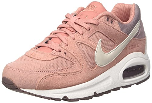 Nike Damen WMNS AIR MAX Command Sneaker, Pink (Red Stardust/Lt Bone/Taupe Grey/White), 40.5 EU