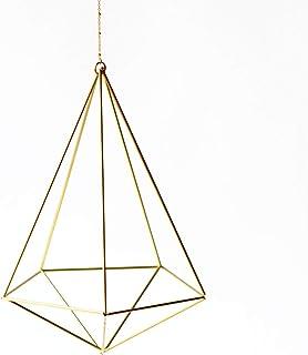 Fuxigold colgante para planta de aire Decahedron No02, colgador clavel de aire, decoración con plantas