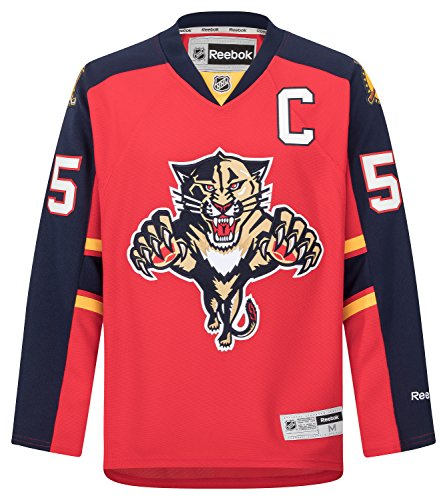 Reebok NHL Eishockey Trikot Jersey Premier Florida Panthers Ed Jovanovski #55 rot (M)