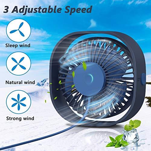 TedGem USB Ventilator Handventilator kaufen  Bild 1*