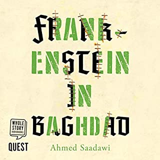 Frankenstein in Baghdad cover art