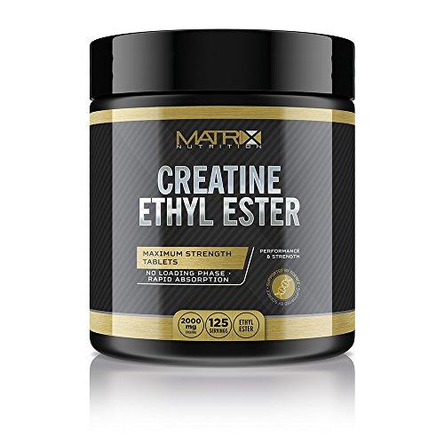Matrix Nutrition Creatine Ethyl Ester (CEE) Hardcore Tablets - Muscle Mass Strength Ednurance. (500 Tablets)