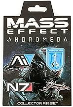 Mass Effect Andromeda Collector 4 Pin Set