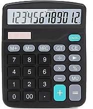 $33 » FMGFGFMG Calculator, Standard Function Desktop Calculator, 12-Digit Battery Dual Powered Handheld Electronic Business Desk...