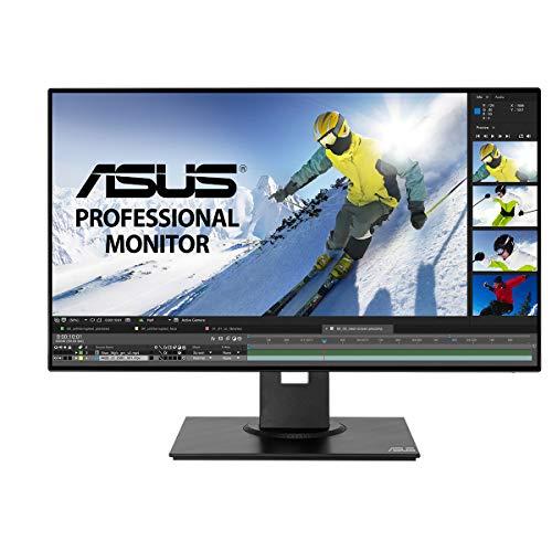 Asus PB247Q 60,5 cm (24 Zoll) Monitor (Full HD, IPS, HDMI, DisplayPort, Mini-DisplayPort, 5ms Reaktionszeit) schwarz