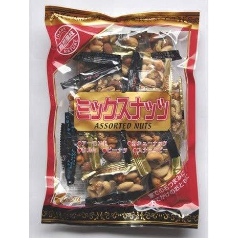 ミックスナッツ 個包装 170g 小分けパック アーモンド カシューナッツ クルミ スナックピー ピーナッツ