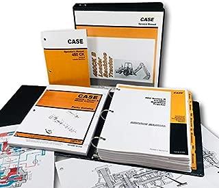 Case 480B/480 Ck Series B Tractor Loader Backhoe Operators Service Parts Manuals