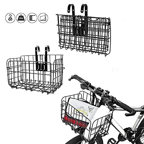 Cesta para Bicicleta, Cesta para Bicicleta Plegable,...