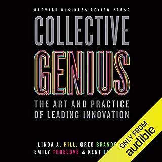 Collective Genius audiobook cover art