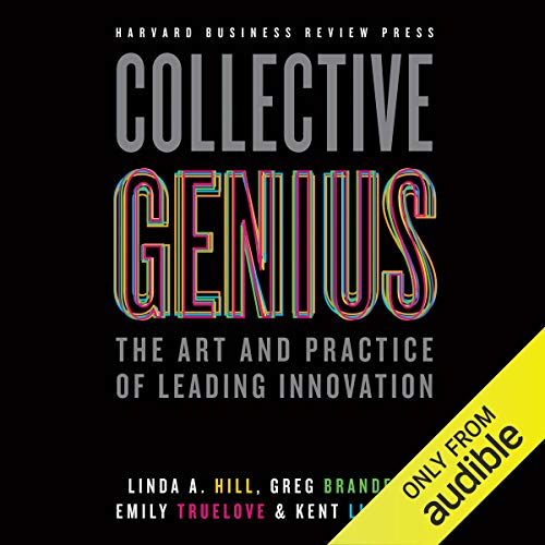 Collective Genius audiobook cover art