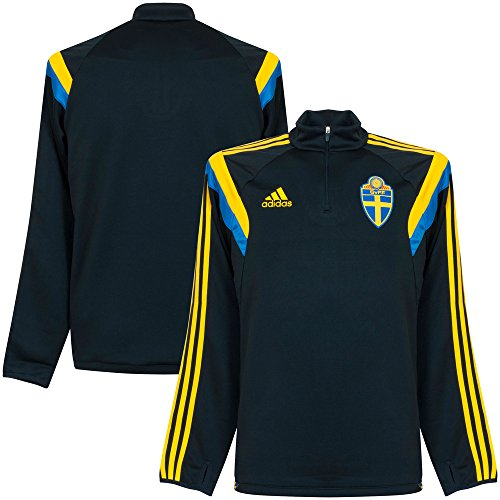 2014-2015 Sweden Adidas Training Track Top (Navy)