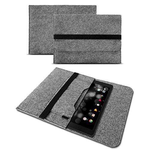 UC-Express Sleeve Hülle für Samsung Galaxy Book 10 Tasche Filz Schutzhülle 10.6 Zoll Cover, Farben:Grau